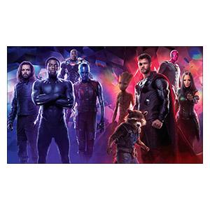 Avengers. Размер: 100 х 60 см